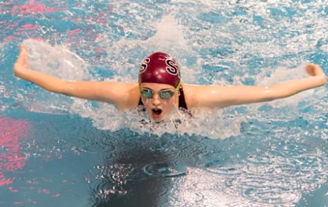 Swim team finishes season