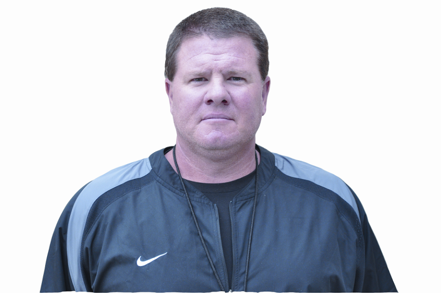 Head football coach says he's here to stay