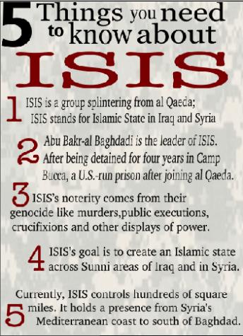 Most recent terrorist threat explained