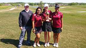 Girls' golf qualify for sub-state