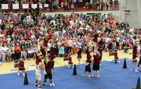 First pep rally alludes to exciting season
