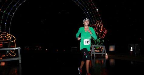 Running under the Lights