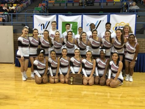 Cheerleaders Reign Victorious at State