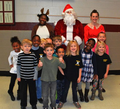 Sparkman SGA Kindergarten Christmas Program
