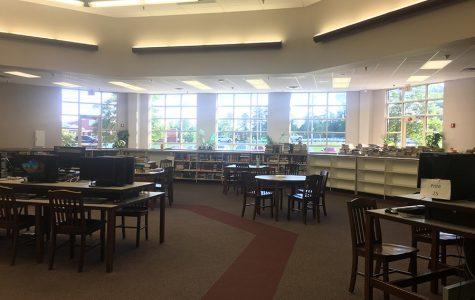 English Teacher Takes Over Library