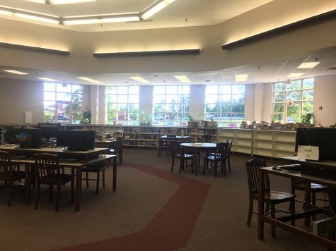 English Teacher Takes Over Library