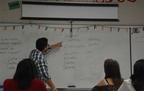 Mario Limon teaches his third block class.