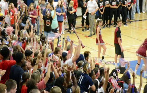 Water bottle fight leads to possible loss of pep rallies