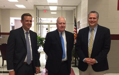 State Superintendent visits school
