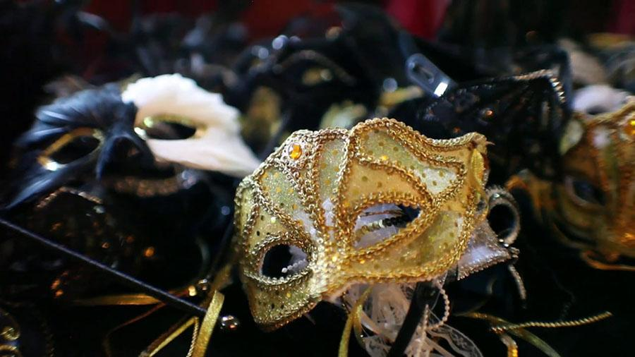 the crimson crier restrictions on masks for maquerade prom night