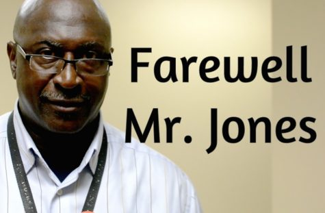 Farewell Mr. Jones