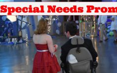 Students have fun at special needs prom