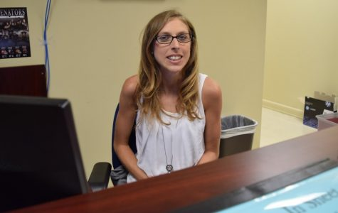 New Receptionist not intimidated by School Schedule Mixups