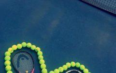 Junior Waits Half of High School Career to Pick Up Tennis