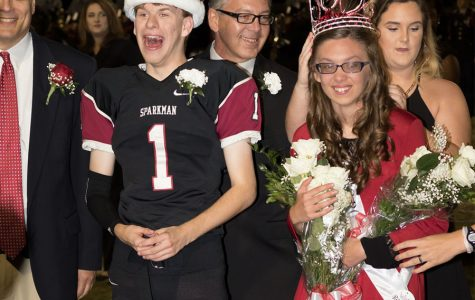Homecoming King, Queen Talk With Crier