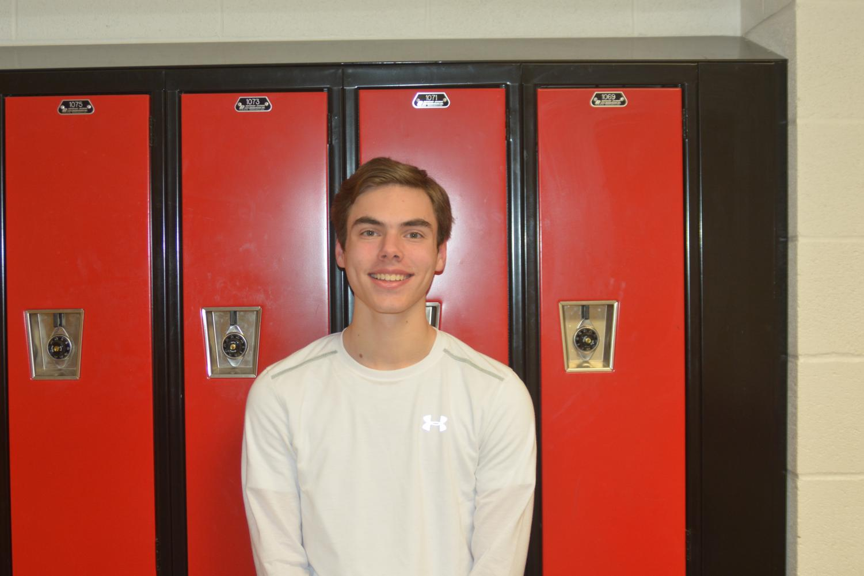 Freshman Caleb Ethridge makes a 31 on ACT test.