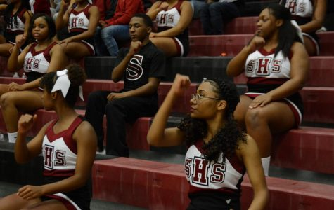Sophomore Makes History As First Male Cheerleader on Basketball Squad