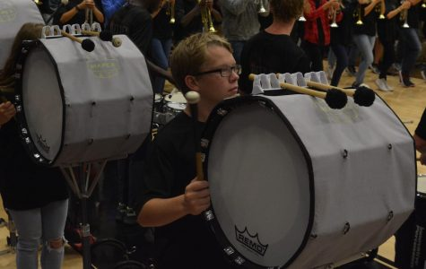 Percussion Hopes For Successful Competition Season