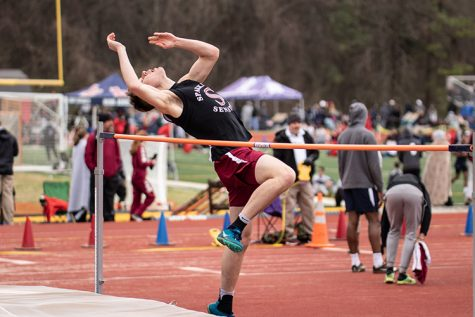 Jumping Into Success: Student Sets New High Jump Record