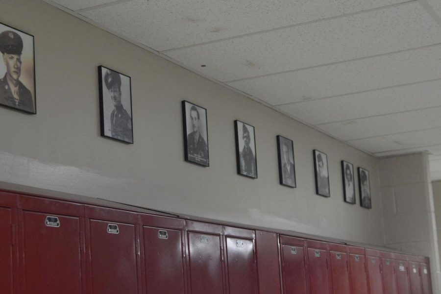 The wall of honor will be presented to veterans on the day of the veterans assembly.