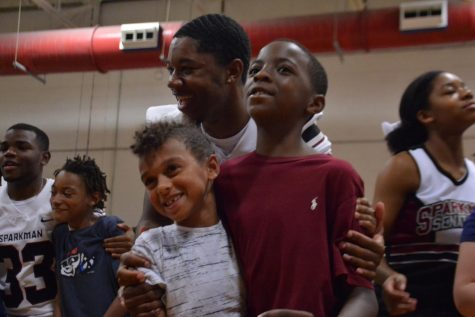 Students Pump Up Elementary Schools with Pep Rallies