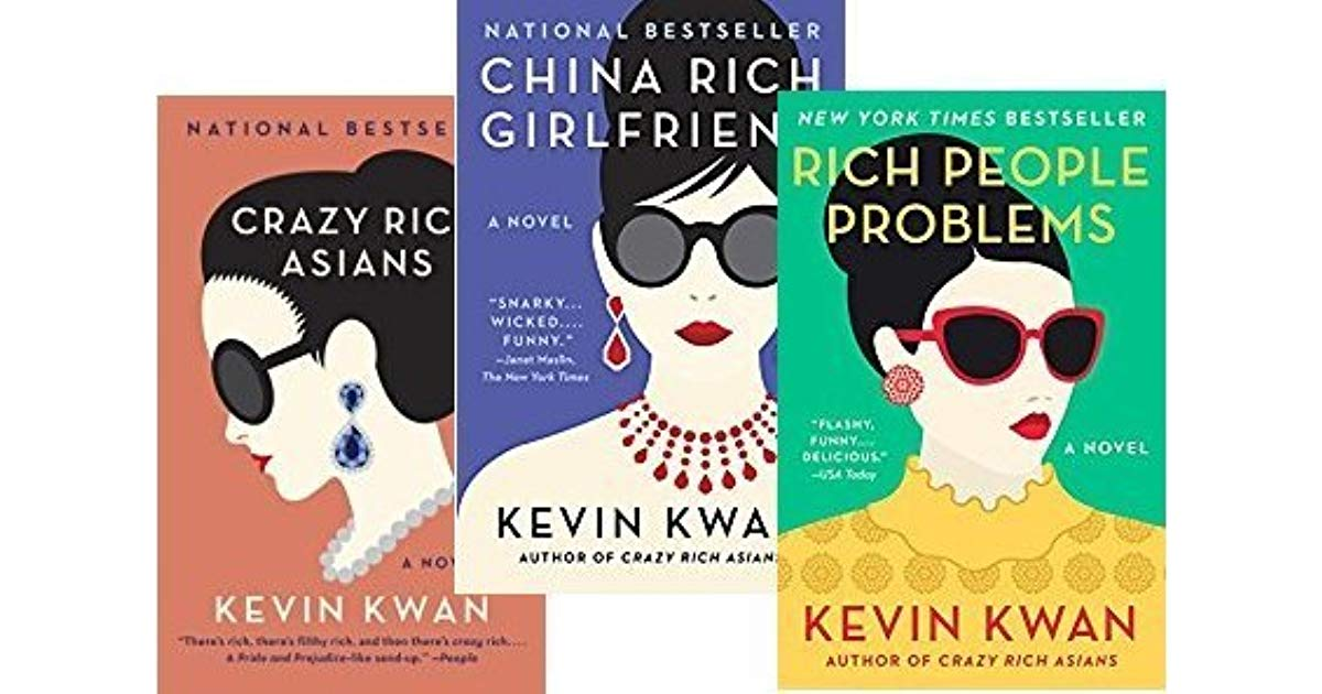 The Crazy Rich Asians series addresses the culture of money in Asia.