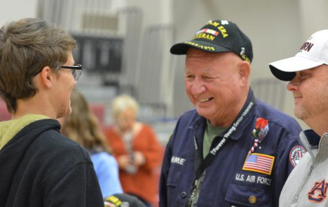 Seven Veterans Honored At Today's Assembly