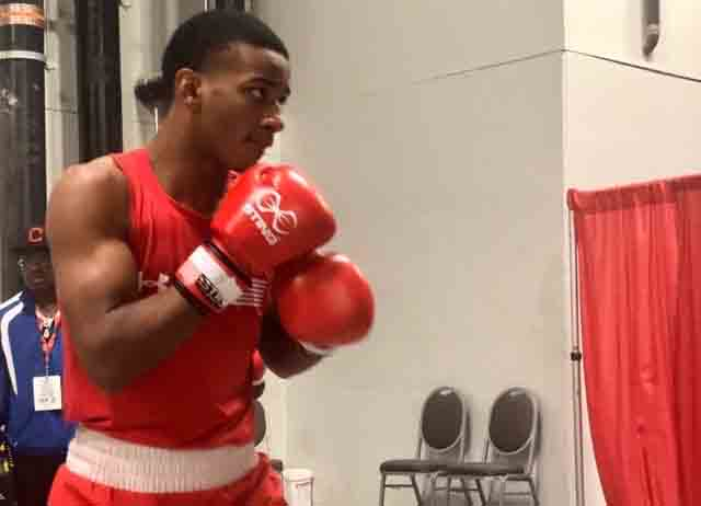 Junior Hopes to Pound His Way to the Olympics