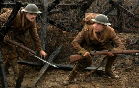 The movie, 1917, follows two British soldiers during World War I.