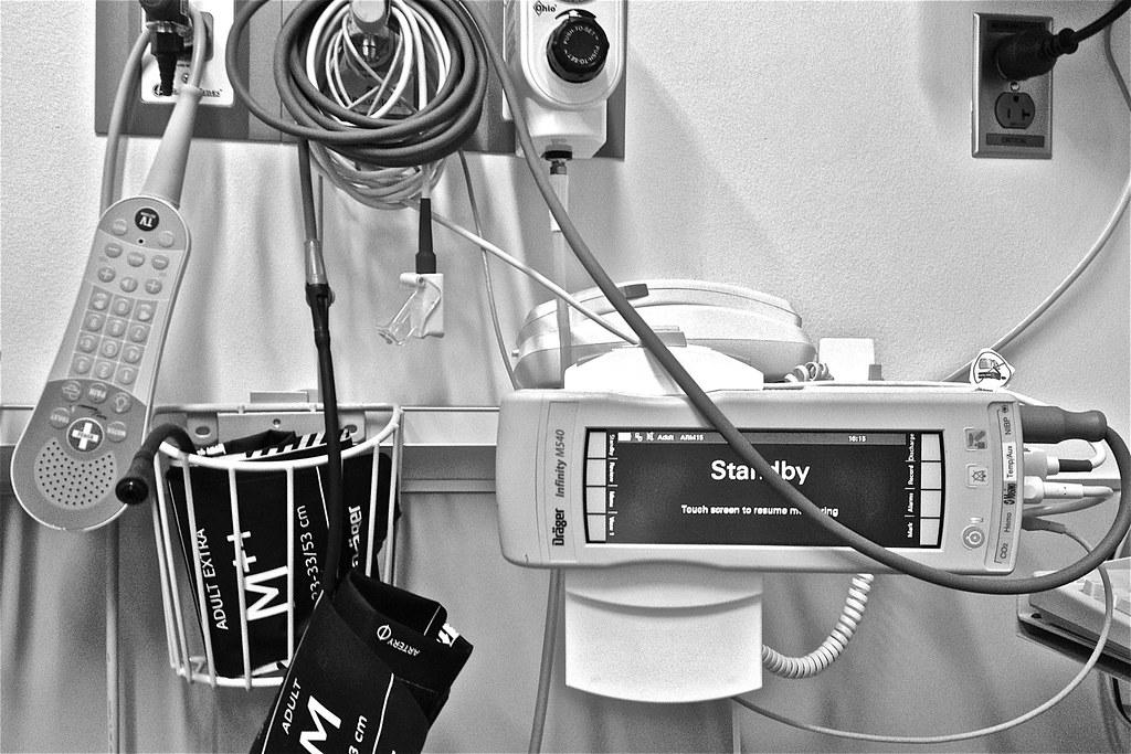 Emergency room, Rush University Medical Center