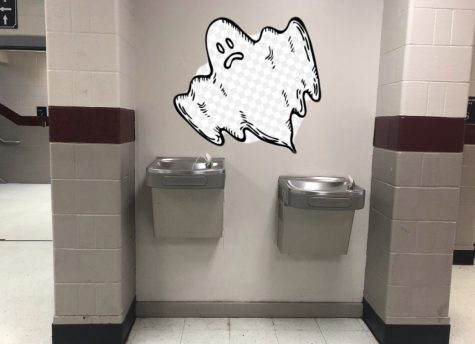 Water Fountain Seems To Be Haunted