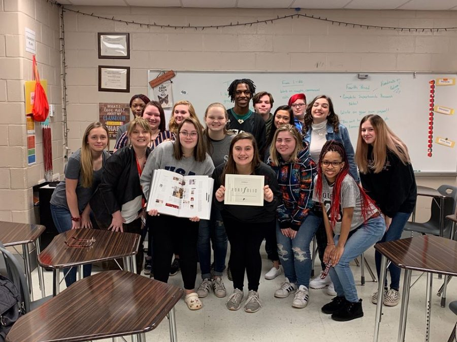 Yearbook Company Awards Yearbook Staff In Portfolio