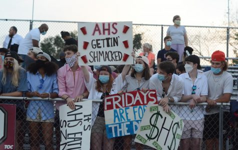 Students are now required to wear masks to all football games.