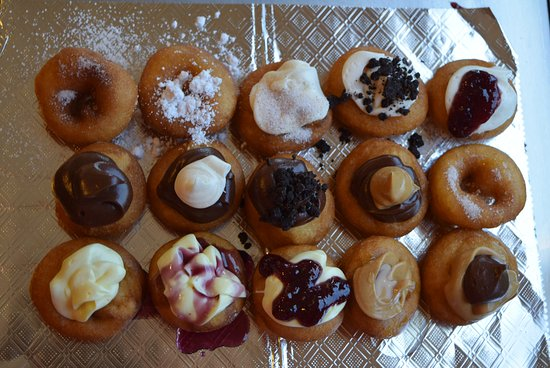 Big Foot Little Donuts offers a variety tiny donuts that will please any customer.