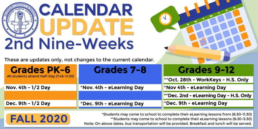 New+Calendar+Update+Includes+Multiple+E-Learning+Days