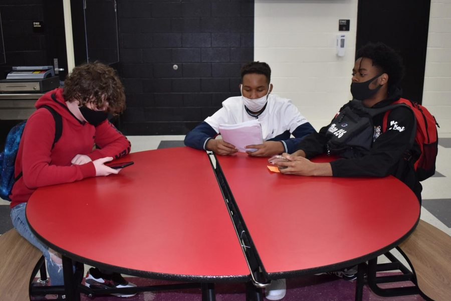 Students will continue to wear masks at school and in the community as Gov. Kay Ivey has extended the mask law until Dec. 11.
