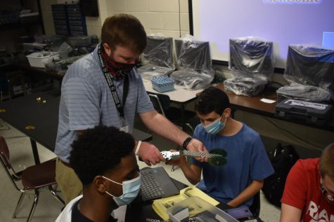 New Robotics Teacher Speaks Of New Role