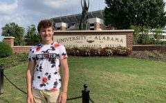 Forbes on his college visit to the University of Alabama