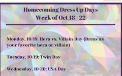 SGA Announces HOCO Dress Up Days